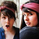 T Shirt Headbands