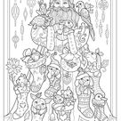 Creative Haven Creative Christmas Coloring Book (Adult Coloring)