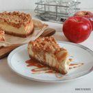 Karamell Apfel Streusel Käsekuchen   Bake to the roots