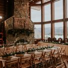 Colorado winter wedding photos at Meadowview Lodge in Grand Lake, Colorado