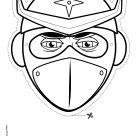 Printable Masks of People