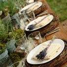 Rustic Table Settings
