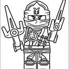 Tegninger til Farvelægning Lego Ninjago 1
