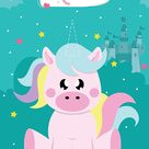 Where's My Horn Unicorn Pin Up Party Game, Pin The Tail Remake, Girls Birthday Games, Girls Party Games, Unicorn Toy, Party Activity