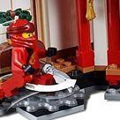 LEGO Ninjago - Monasterio del Spinjitzu, juguete creativo e imaginativo de construcción con templo para aventuras ninja (70670)