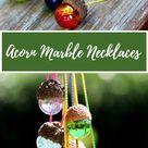 Acorn Marble Necklace DIY