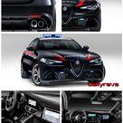 2017 Alfa Romeo Giulia Quadrifoglio Carabinieri   HD Pics, Specs & videos   Dailyrevs