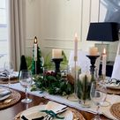 Simple Nature-Inspired Holiday Table