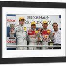 Framed Photo. DTM Championship 2008, Round 8, Brands Hatch,