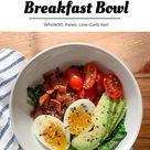 Keto Breakfast Bowl — My Healthy Dish