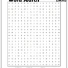 Digestive System Word Search  Monster Word Search