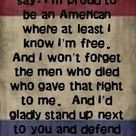 Lee Greenwood God Bless the USA. My all time fave song