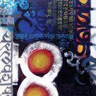 Keval Apulya Swarthasathi - Calligraphy Art