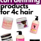 Curl Defining Products For 4C Hair | Millennial in Debt