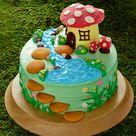 Fairy Birthday Cake
