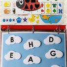 Busy Book for Toddlers, Learning Folder, Quiet Book
