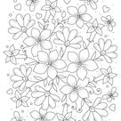 Flowers Adult Coloring Page to Print   Woo Jr. Kids Activities
