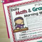 Daily Math and Grammar Spiral Review  (Grades 2-5)
