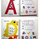 Interactive Alphabet Notebook   Uppercase Alphabet Letter Craft Activities