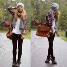 Winter College Fashion