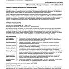 Human Resources Manager Resume | Distinctive Career Services