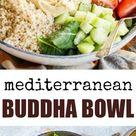Mediterranean Buddha Bowl | Culinary Hill