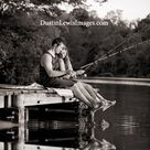 Fishing Engagement Photos