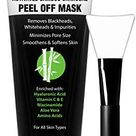 Ebanel Blackhead Remover Charcoal Peel Off Face Mask with Brush, 3.52 Oz Deep Cleansing Purifying Charcoal Mask Pore Cleaner Minimizer with Niacinamide, Hyaluronic Acid, Vitamin C E, Aloe, Green Tea - 3.52 Ounce