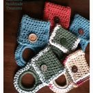 Crochet Towel Holders