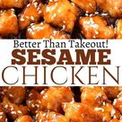 Better Than Takeout- Sesame Chicken!