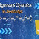 Assignment Operator in JavaScript