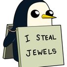 Adventure Time Gunter I Steal Jewels