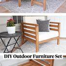 DIY Outdoor Furniture Set