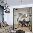 Interieur met taatsdeuren - Hoog ■ Exclusieve woon- en tuin inspiratie.