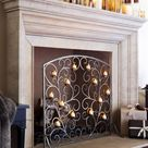 47 Adorable Fireplace Candle Displays For Any Interior - DigsDigs