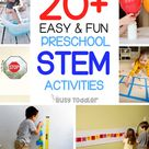 50+ Super Awesome Preschool Activities - Busy Toddler