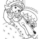 Little Red Riding Hood Grandma Coloring Pages