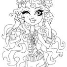Lagoona Blue Coloring Page