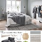 6+ Beautiful Green-Gray Bedrooms You Can Re-create Today