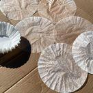 DIY Coffee Filter Rose - The Shabby Tree
