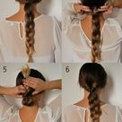 Easy 5 Minute Hairstyles for Those Crazy Busy Mornings   XO, Katie Rosario