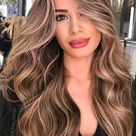 Brown Hair Colour Ideas for 2021 : Brunette with multi shades of blonde