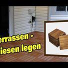 Terrassenplatten verlegen | Terrassen Fliesen legen | Terrassenfliesen verlegen