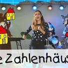 Die Zahlenhäuser - Mathe Lernlieder mit Marie Wegener || Kinderlieder