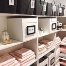 Mother reveals the most incredibly organised linen closet ever