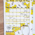 40 More Stunning bee and honey bullet journal spreads   My Inner Creative