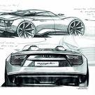 2010 Audi e tron Spyder Concept