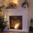 These Fireplace Mantel Ideas Will Make Your Living Room the Coziest Spot