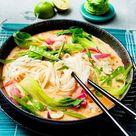 Spicy Thai Nudelsuppe Rezept  | LECKER