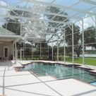 Pool enclosures – modern design options and types of construction